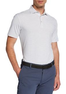 Peter Millar Men's Halifax Striped Polo Shirt