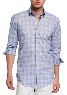Peter Millar Men's Jozi Plaid Long-Sleeve Shirt