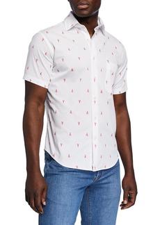 Peter Millar Men's Maine Squeeze Short-Sleeve Sport Shirt