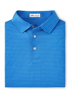 Peter Millar Men's Mercerized Cotton Jacquard Knit Polo shirt