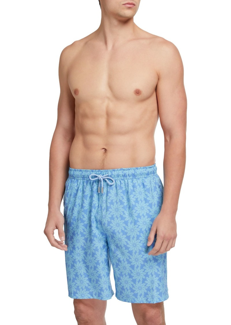 Peter Millar Men's Palm Flakes Swim Trunks