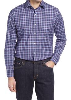 Men's Peter Millar Allen Plaid Button-Up Shirt