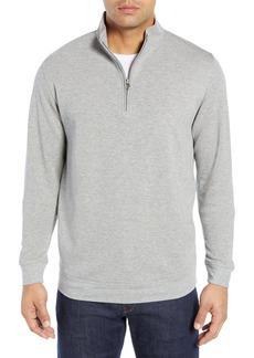 Men's Peter Millar Comfort Interlock Quarter Zip Pullover