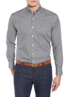 Men's Peter Millar Crown Soft Gingham Regular Fit Shirt