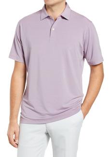 Men's Peter Millar Drirelease Stripe Short Sleeve Performance Jersey Polo