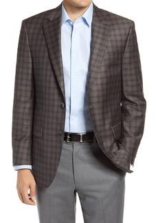 Men's Big & Tall Peter Millar Flynn Check Wool Sport Coat
