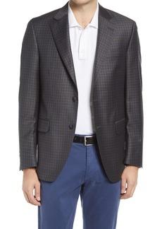 Men's Big & Tall Peter Millar Flynn Classic Fit Check Wool Sport Coat