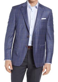 Men's Peter Millar Flynn Classic Fit Plaid Wool Sport Coat