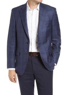 Men's Big & Tall Peter Millar Flynn Plaid Wool Sport Coat