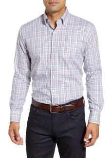 Men's Peter Millar Freeman Park Tattersall Button-Down Shirt