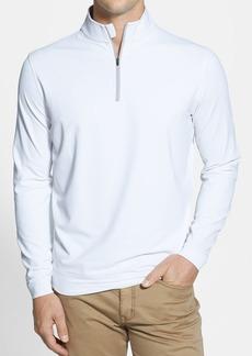 Men's Peter Millar Moisture Wicking Stretch Quarter Zip Jacket
