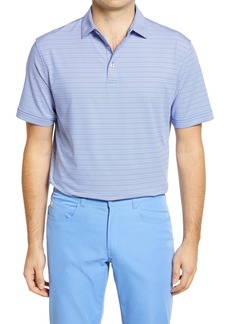 Men's Peter Millar Noble Stripe Short Sleeve Jersey Polo