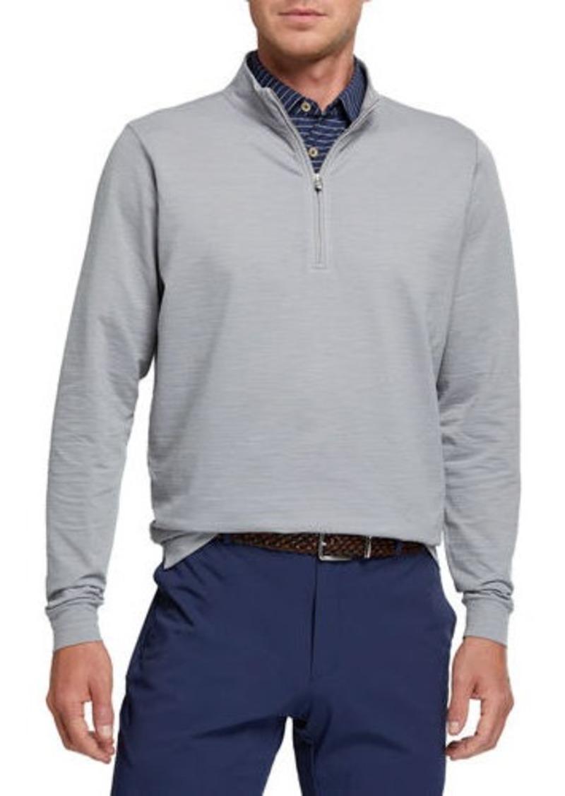 Peter Millar Men's Seaside Quarter-Zip Sweater