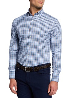 Peter Millar Men's Stribling Plaid Woven Shirt