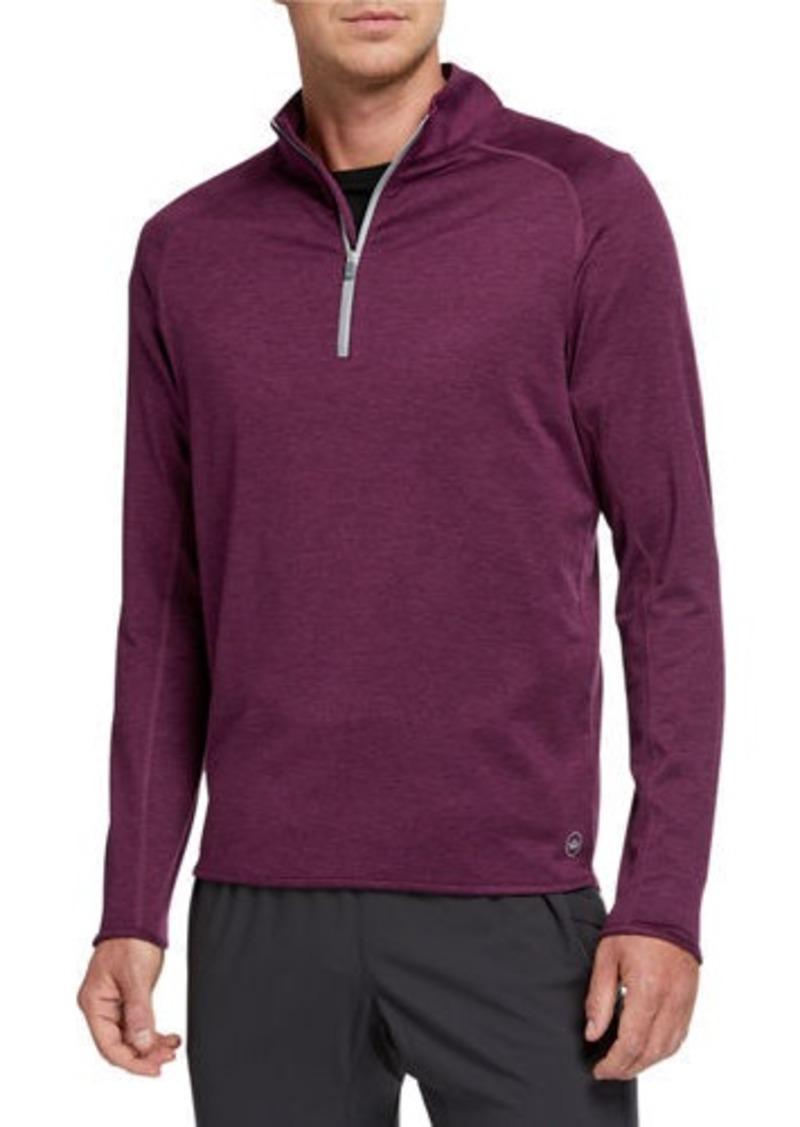 Peter Millar Men's Sydney Quarter-Zip Pullover Sweater