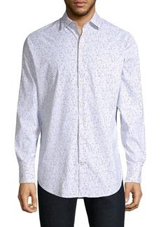 Peter Millar Mini Flower Print Shirt