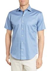 Peter Millar Palm Regular Fit Print Shirt
