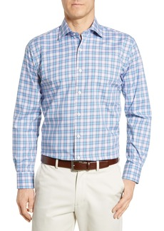 Peter Millar Badon Regular Fit Tartan Plaid Shirt
