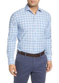 Peter Millar Barrett Regular Fit Plaid Button-Up Shirt