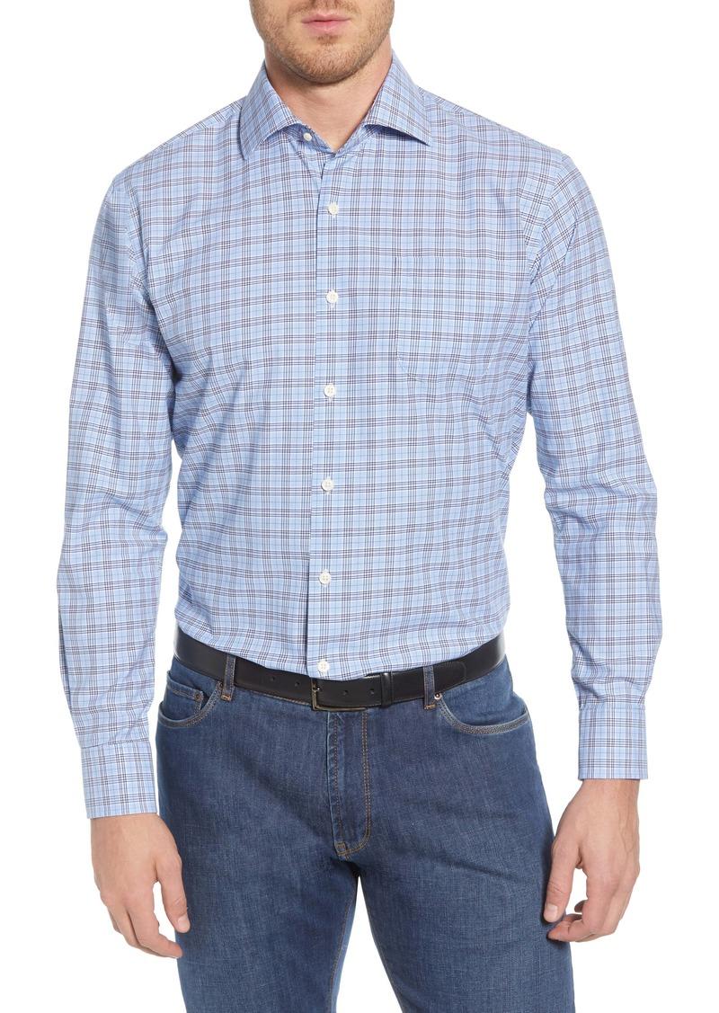 Peter Millar Bernard Regular Fit Plaid Button-Up Sport Shirt