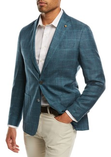 Peter Millar Binimi Windowpane Soft Jacket