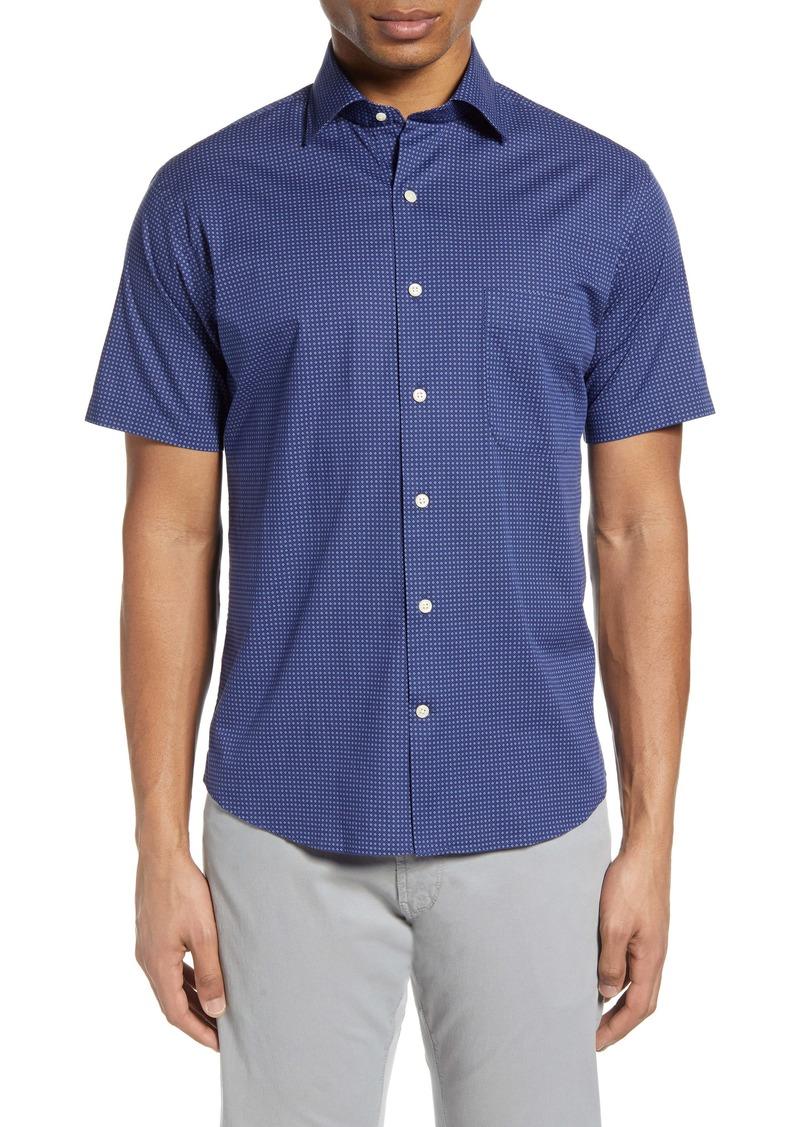 Peter Millar Block Island Short Sleeve Button-Up Shirt