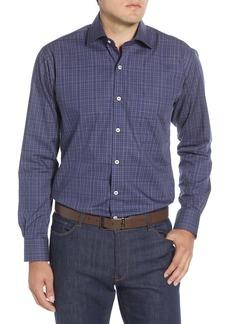 Peter Millar Branson Regular Fit Plaid Button-Up Shirt