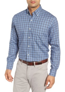 Peter Millar Briar Hill Tartan Plaid Sport Shirt