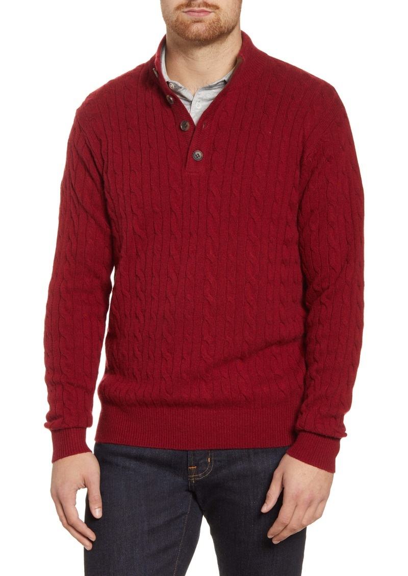 Peter Millar Cable Knit Sweater