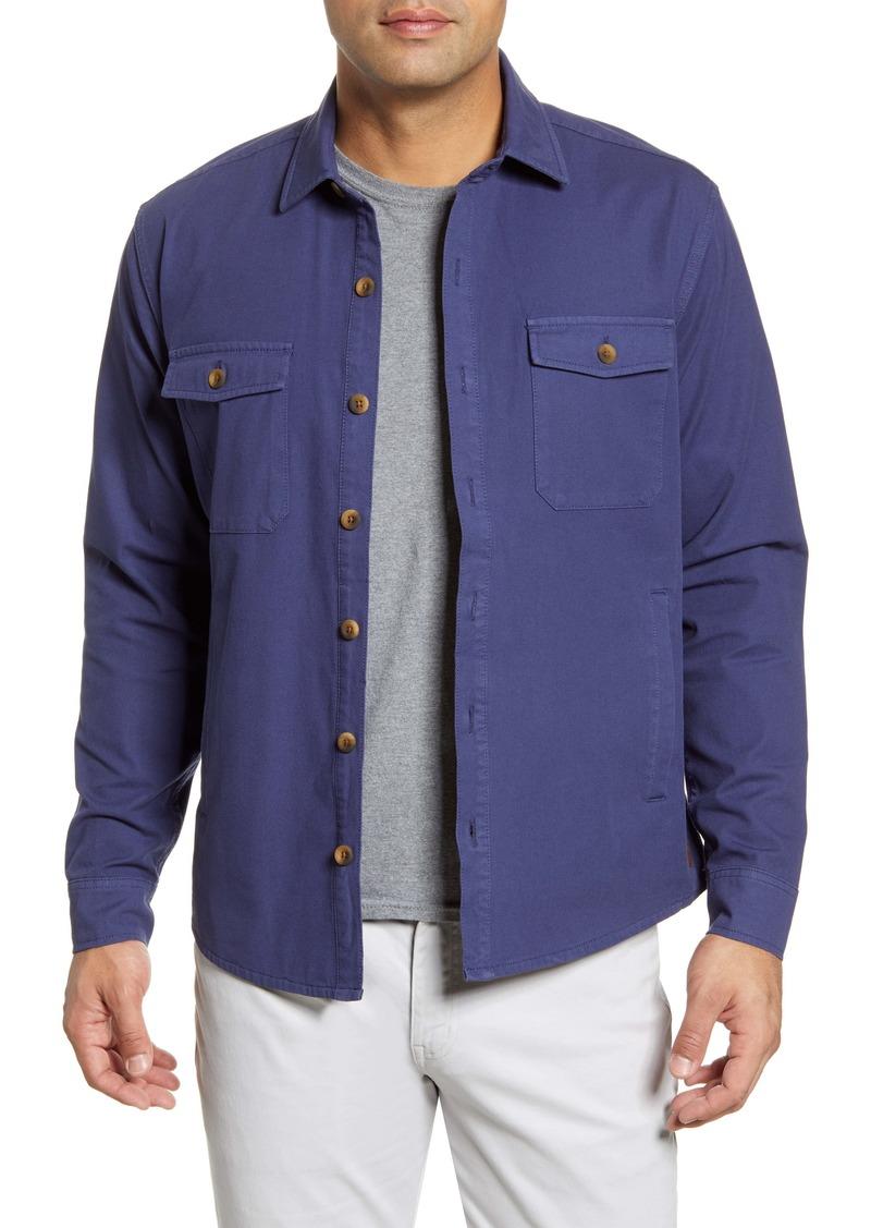 Peter Millar Calvary Classic Fit Button-Up Shirt Jacket