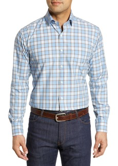 Peter Millar Caswell Tartan Plaid Shirt