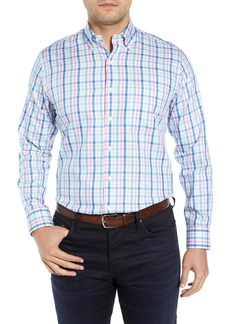 Peter Millar Catamaran Check Shirt