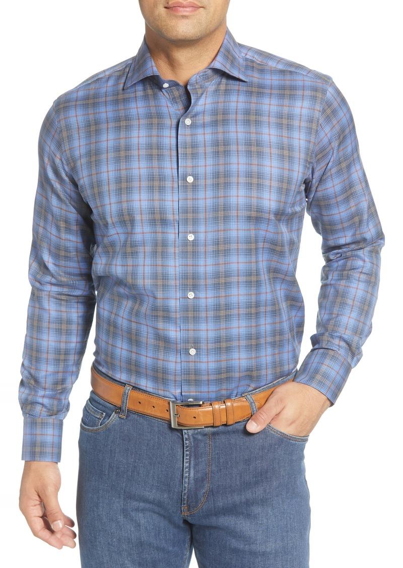 Peter Millar Chalet Regular Fit Plaid Button-Up Shirt