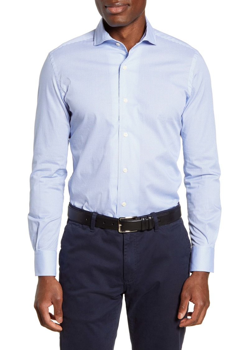 Peter Millar Chip Off the Old Block Regular Fit Button-Up Shirt
