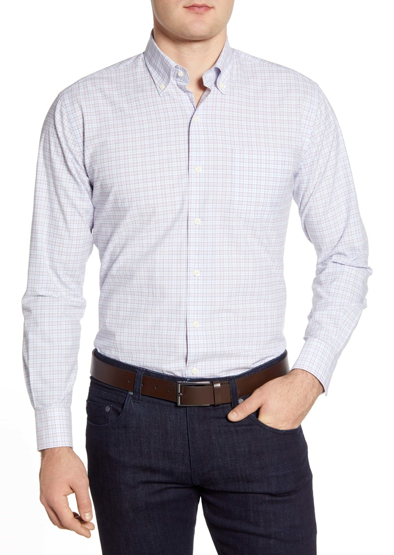 Peter Millar Clarence Regular Fit Check Button-Down Shirt