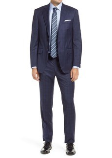 Peter Millar Classic Fit Check Wool Suit