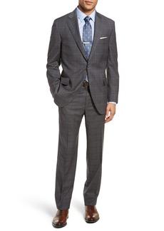 Peter Millar Classic Fit Plaid Wool Suit