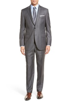 Peter Millar Classic Fit Solid Wool Suit