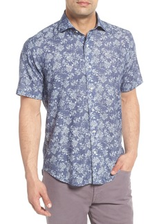 Peter Millar Collection Coastal Cliffs Regular Fit Sport Shirt