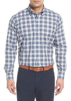 Peter Millar Collection Kairos Regular Fit Mélange Check Sport Shirt