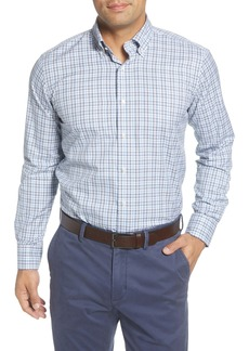 Peter Millar Collection Massif Regular Fit Check Button-Down Shirt