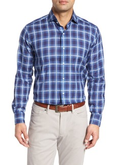 Peter Millar Collection Paradise Plaid Sport Shirt