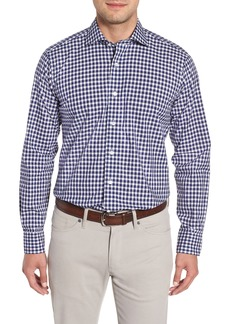 Peter Millar Collection Regular Fit Bouclé Gingham Sport Shirt