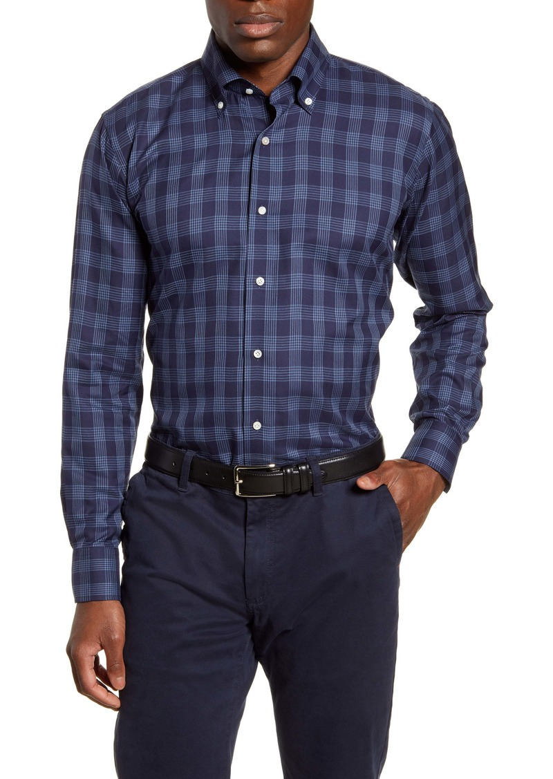 Peter Millar Collection Reigns Tailored Fit Plaid Button-Down Shirt