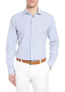 Peter Millar Collection Summertime Stripe Seersucker Sport Shirt