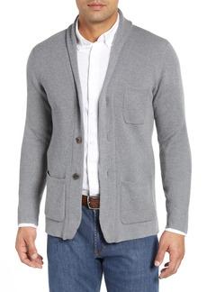 Peter Millar Collection Whites Wool & Cashmere Cardigan