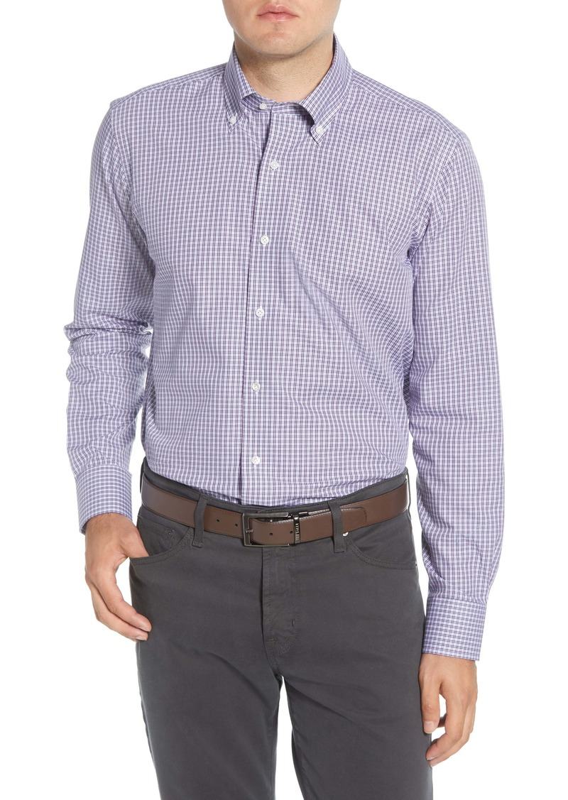 Peter Millar Collection Wintertime Classic Fit Check Button-Down Shirt