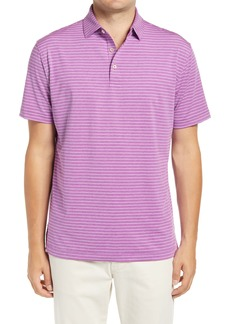 Peter Millar Crafty Pinstripe Performance Polo