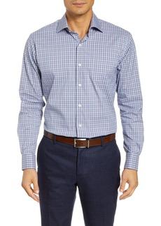 Peter Millar Crown Comfort Madison Regular Fit Check Button-Up Shirt