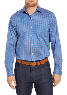 Peter Millar Crown Comfort Newberg Regular Fit Check Button-Up Shirt